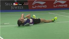 Spaniard Marin shock Badminton World Champion
