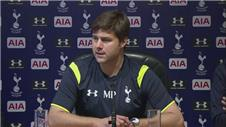 Pochettino believes Tottenham were unlucky in Liverpool loss