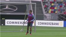 Germany train ahead of their friendly against Argentina
