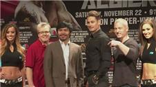 Pacquiao and Algieri look ahead to fight