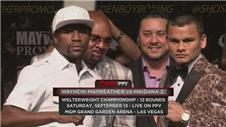 Mayweather and Maidana ready for rematch