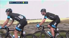 Wiggins losing ground at Tour of Britain