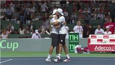Italy beat Switzerland in Davis Cup mens doubles