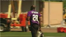 Accused Peterson supported by Minnesota team-mates
