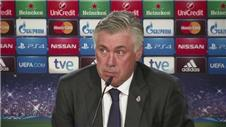 Ancelotti lauds reaction to derby defeat