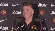 Van Gaal boasts of Man Uniteds attacking options