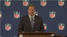 Roger Goodell apologises for NFL inaction
