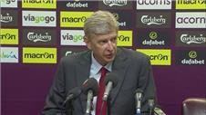 Wenger: convincing win over Villa