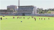 Teams arrive for Cricket World Cup practice