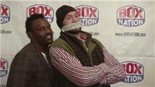 Fury silent at Chisora conference