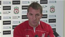 Rodgers admits Liverpool still work in progress