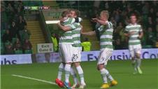 Celtic ease past Hearts in Scottish League Cup