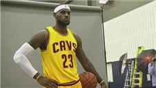 James vows to lead Cavaliers to NBA glory