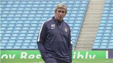 City prepare for Roma clash