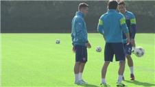 Arsenal prepare for Galatasaray clash