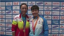 Wang Qiang relieved to secure gold medal