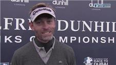 Dunhill Links lead 'pleasing' - Jacquelin