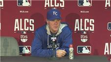 Yost, Moustakas and Showalter discuss Royals 2-1 win