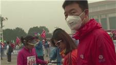 Beijing Marathon dominated by smog