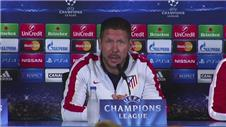 Simeone wary of counter-attacking Malmö