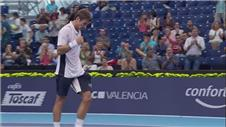 Valencia Open: Robredo progresses