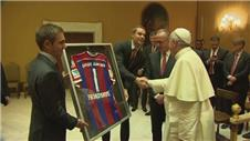 Bayern Munich stars visit the Pope