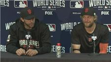 Bochy, Bumgarner and Yost on the Giants 7-1 win