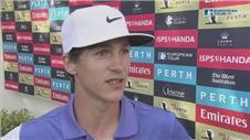 Olesen, Wade and Rumford on round one in Perth