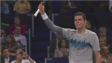 Raonic beats Young at the Swiss Indoors