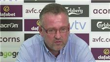 Lambert demands Villa improvement