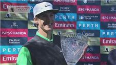 Thorbjorn Olesen claims Perth International title