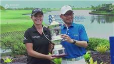 Pace wins rain-delayed Blue Bay LPGA