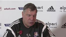Allardyce unsurprised by West Hams league position