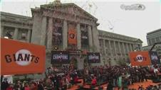 San Francisco Giants celebrate World Series victory