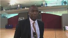 NBA star Dikembe Mutombo talks about Ebola