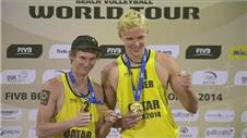 German debut pair win FIBV Qatar Open