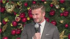 Beckham on Christmas traditions