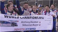 Toyota clinch Drivers World Championship title