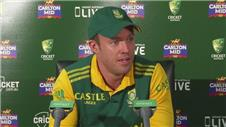 Perfect World Cup preparations despite loss - de Villiers
