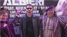 Pacquiao and Algieri prepare for their WBO welterweight title fight