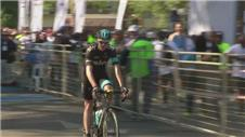 Froome rides in Nelson Mandela memorial