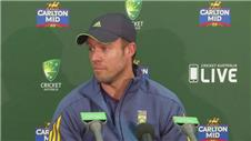 De Villiers disappointed following 4-1 series defeat