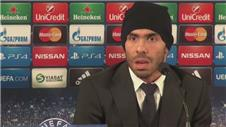 Tevez looks forward to Malmo Champions League clash