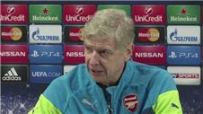 Wenger going for win against Dortmund
