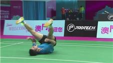 Upsets at the Badminton semis in Macau