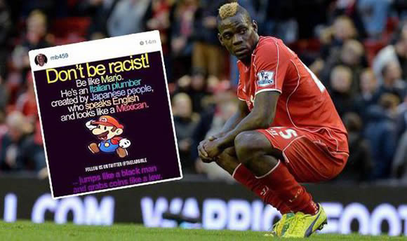 Super stupid Mario! Liverpool ace Balotelli faces FA probe for sharing 'antisemitic' post