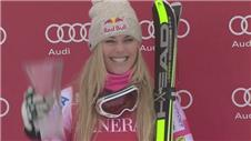 Vonn triumphs on return from injury