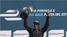 Buemi claims first victory in Formula E