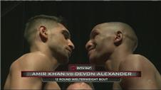 Khan and Alexander weigh in