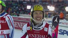 Hirscher wins in Are Sweeden